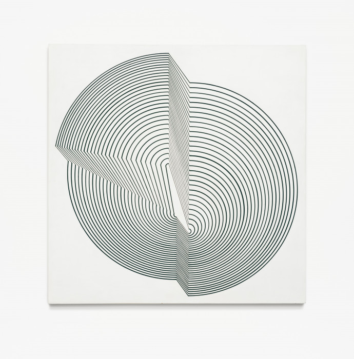 Riley, Interrupted Circle, 1963