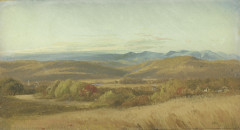 Shattuck, Study for a Valley Scene, 1860