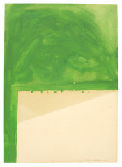 Palermo, Untitled (Composition with Green Paint), 1964