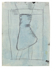 Palermo, Untitled (Female Figure), 1964