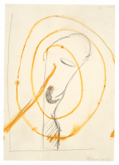 Palermo, Untitled (Head with Spiral), 1963