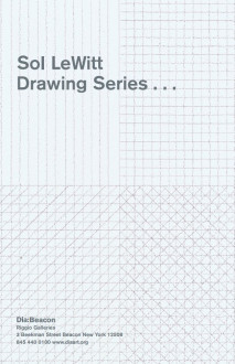 Lewitt, Sol, Drawing Series brochure cover