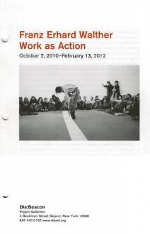 Walther, Franz Erhard, Work As Action brochure cover