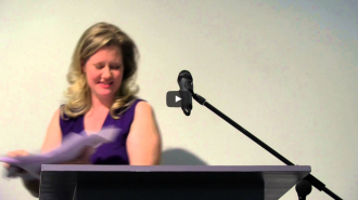 Anne Waldman and Lee Ann Brown Video from Readings in Contemporary Poetry