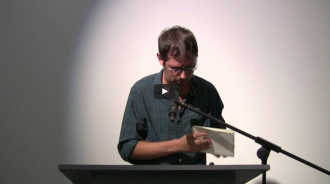 Anselm Berrigan and John Godfrey Video from Readings in Contemporary Poetry