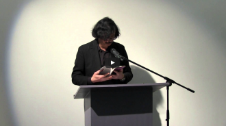 Bob Holman and Thomas Fink Video from Readings in Contemporary Poetry