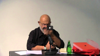 Jim Dine and Karen Weiser Video from Readings in Contemporary Poetry