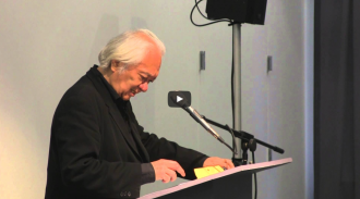John Yau and Arlo Quint Video from Readings in Contemporary Poetry