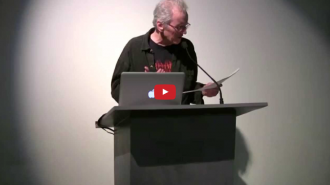 Michael Lally and Brenda Iijima Video from Readings in Contemporary Poetry