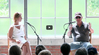 Robert Irwin in conversation with Director Jessica Morgan
