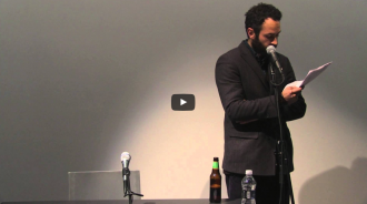 Ron Silliman and Robert Fitterman Video from Readings in Contemporary Poetry