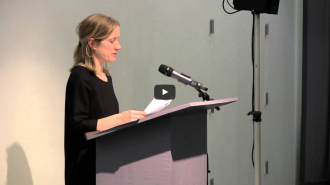 Susan Howe and Kate Colby Video from Readings in Contemporary Poetry