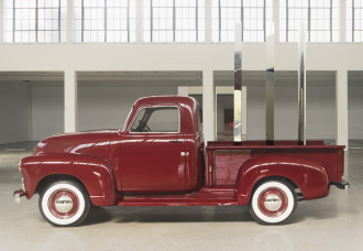 DEM_ Red Truck: Square, Triangle, Circle, 2011-17